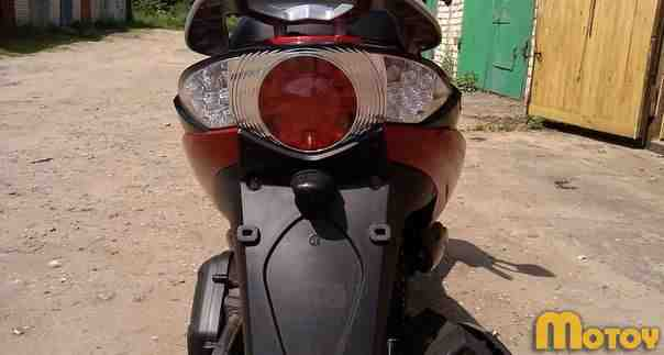 Скутер(Мотоцикл) 150см3