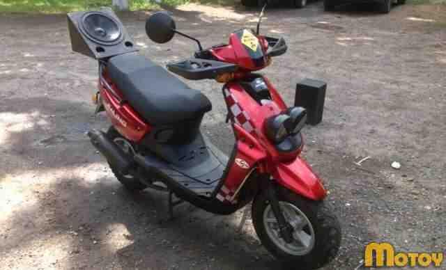 Скутер джалинг qt 16