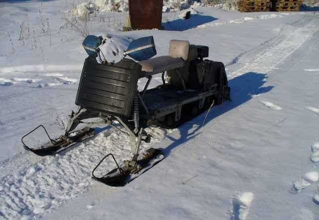 Снегоход самодельный разборный