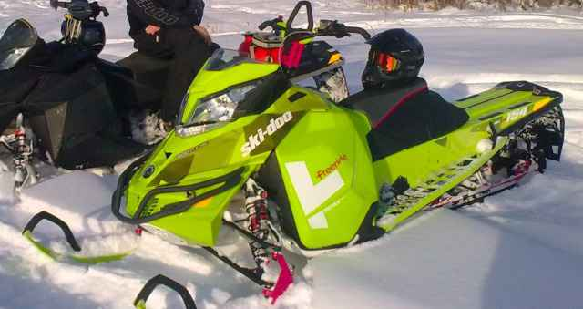 Снегоход BRP SKI-DOO Freeride 154 800R E-teс