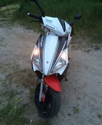 Продам скутер, мотоцикл 125 кубов Балтмоторс galac