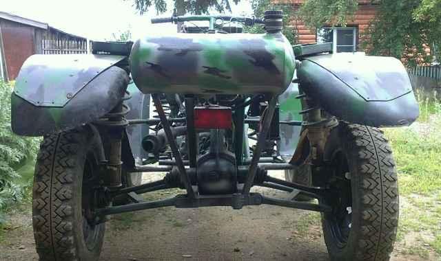 Самодельный квадроцикл