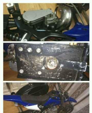 Детский кроссовый мотоцикл 50 кубов 2 Х тактный