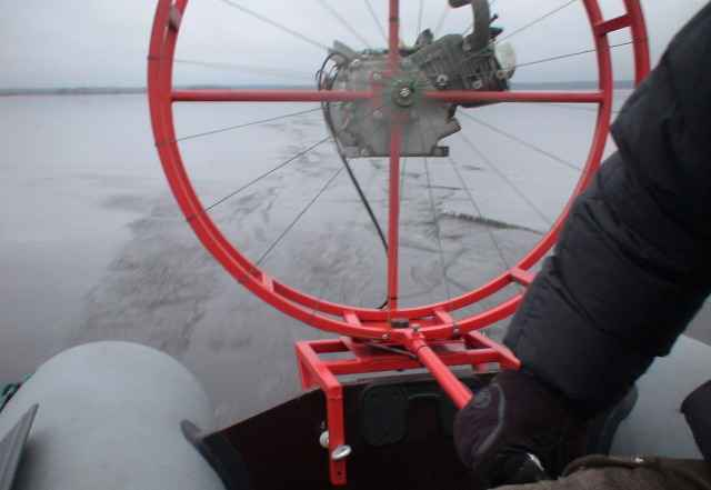 """Аэровездеход для зимней рыбалки (""""Ирбис"""")"""