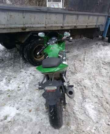 Мотоцикл спортбайк Ирбис з1
