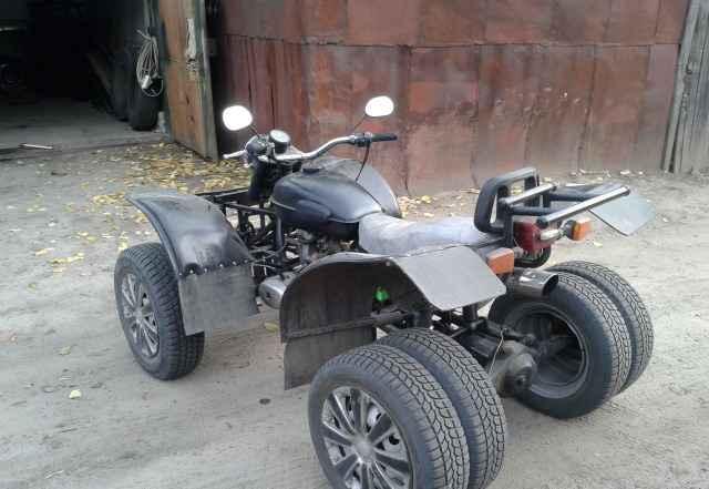 Квадроцикл самодельный урал