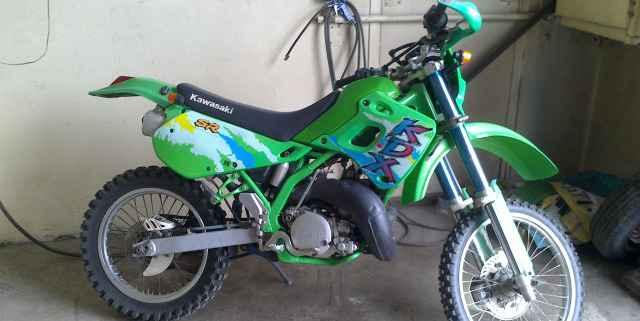 Кавасаки KDX 250 sr