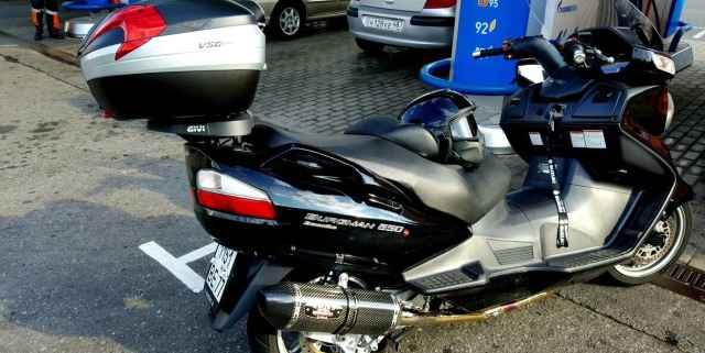 Suzuki Бургман 650