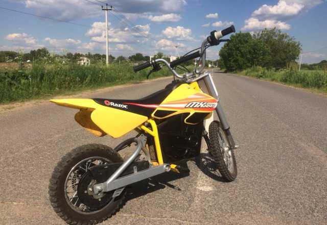 Электрический мотоцикл, электро самокат,скутер raz